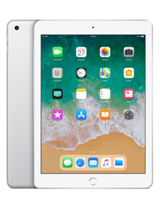 Picture of Apple iPad Wi-Fi Cellular 128GB - Silver (MR7D2B)