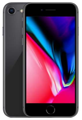 Picture of Apple iPhone 8 64GB Space Grey (MQ6G2B)