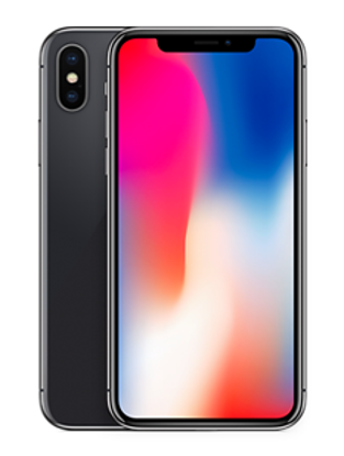 Picture of Apple iPhone X 256GB Space Grey (MQAF2B)
