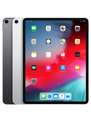Picture of Apple iPad Pro 12.9 Wi-Fi + Cellular 256GB Silver (MTJ62B)