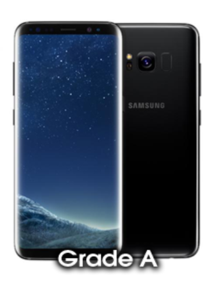 Picture of Refurbished Samsung Galaxy S8 Black (Grade A)