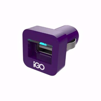 Picture of Trade iGo 2.1A Minijuice USB Car Charger in Purple