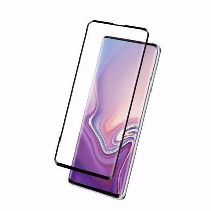 Picture of Eiger Eiger 3D GLASS Full Screen Glass Screen Protector for Samsung Galaxy S10 Plus in Clear/Black