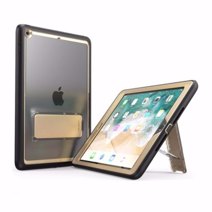 Picture of i-Blason i-Blason Ares Clear Case with Screen Protector for Apple iPad 9.7 (2017) in Gold
