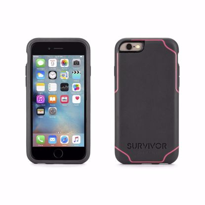 Picture of Griffin Griffin Survivor Journey Case for Apple iPhone 6/6s in Deep Grey/Pink