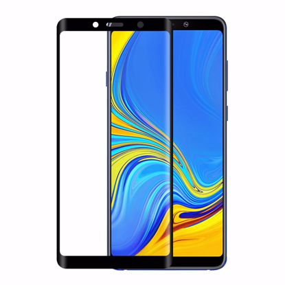 Picture of Eiger Eiger 3D GLASS Tempered Glass Screen Protector for Samsung Galaxy A9 (2018) in Clear/Black