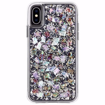 Picture of Case-Mate Case-Mate Karat Case for Apple iPhone XS/X in Pearl