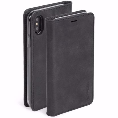 Picture of Krusell Krusell Sunne 4 Card Folio Case for Apple iPhone XS/X in Black