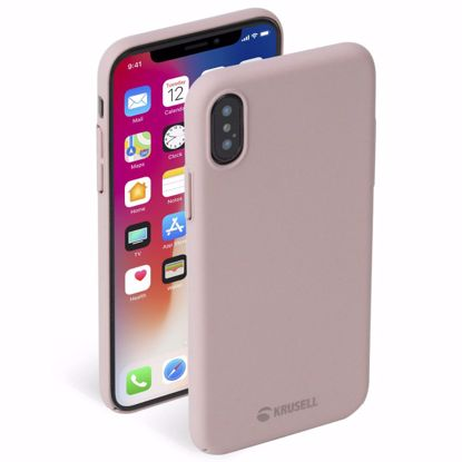 Picture of Krusell Krusell Sandby Case for Apple iPhone XS Max in Dusty Pink