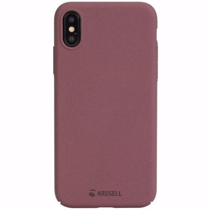 Picture of Krusell Krusell Sandby Case for Apple iPhone XS Max in Rust