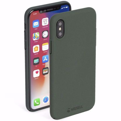 Picture of Krusell Krusell Sandby Case for Apple iPhone XS Max in Moss