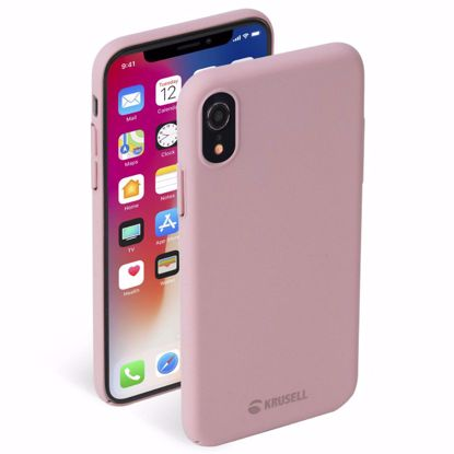Picture of Krusell Krusell Sandby Case for Apple iPhone XR in Dusty Pink