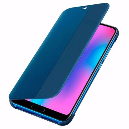 Picture of Huawei Huawei Flip Cover Case for Huawei Honor 10 in Blue