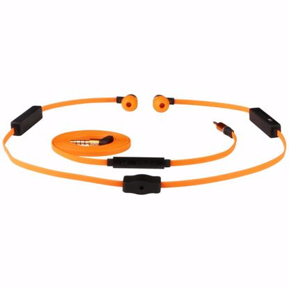 Picture of Pump Audio Pump MIX DUO Wireless or Wired In-Ear Earphones in Orange
