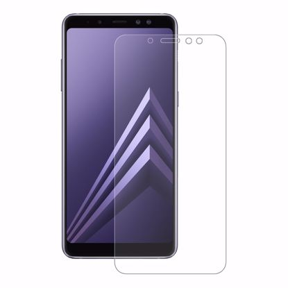 Picture of Eiger Eiger 3D GLASS Full Screen Tempered Glass Screen Protector for Samsung Galaxy A8 (2018) in Clear