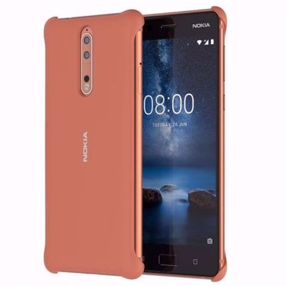 Picture of Nokia Nokia CC-801 Soft Touch Case for Nokia 8 in Copper