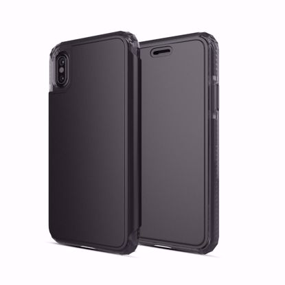 Picture of SoSkild SoSkild Defend Wallet Case for Apple iPhone XS/X in Black