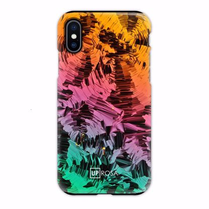 Picture of Uprosa UPROSA Tough Line Case for Apple iPhone XS/X in Liquid Crystals