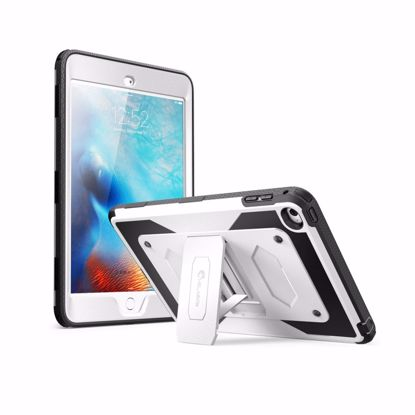Picture of i-Blason i-Blason ArmorBox Case with Built-In Screen Protector for Apple iPad Mini 4 in White
