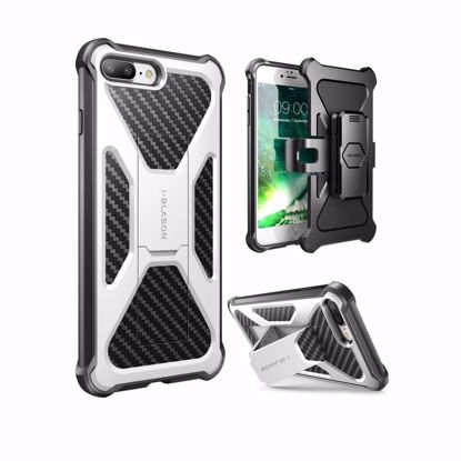 Picture of i-Blason i-Blason Transformer Holster Case for Apple iPhone 7 in White