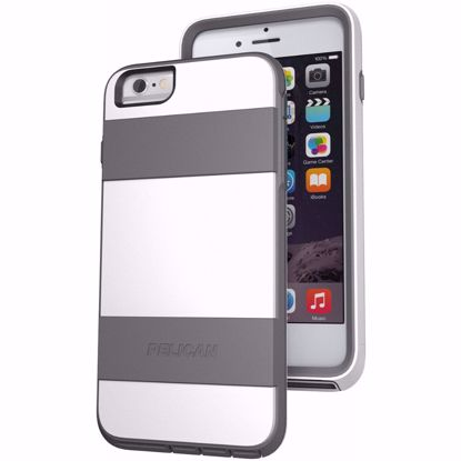 Picture of Pelican Pelican Voyager Rugged Case for Apple iPhone 6+/6s+ in Grey/White