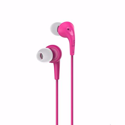 Picture of iLuv iLuv Bubble Gum In-Ear Earphones with Mic in Pink