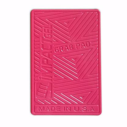 Picture of Impact Gel Impact Gel Grab Pad Universal for Smartphones, Tablets, Laptops, GoPro Camera in Pink