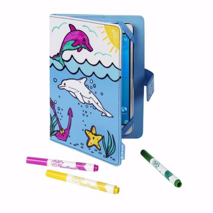 Picture of techair techair Kiddie Folio Tablet Case for 7 inch Tablets in Dolphin Print