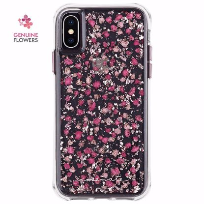 Picture of Case-Mate Case-Mate Karat Petals Case for Apple iPhone XS/X in Ditsy Petals Pink