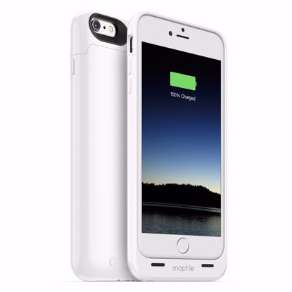 Picture of Mophie mophie Juice Pack Case for Apple iPhone 6s/6 Plus in White