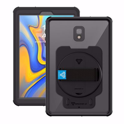 Picture of Armor-X Armor-X MUN Series Case for Samsung Galaxy Tab A 10.5 in Black