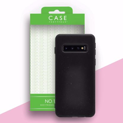 Picture of Case FortyFour Case 44 No.100 for Samsung Galaxy S10 in Black
