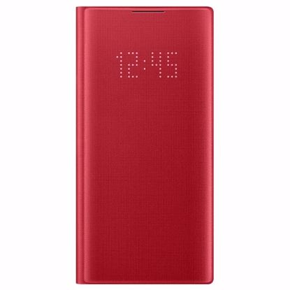 Picture of Samsung Samsung LED View Case for Samsung Galaxy Note 10 in Red