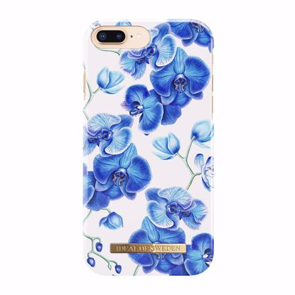 Picture of iDeal Of Sweden iDeal Of Sweden Blue Orchids for Apple iPhone 8+/7+/6s+