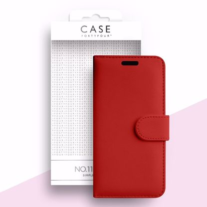 Picture of Case FortyFour Case FortyFour No.11 for Samsung Galaxy S20 Ultra in Cross Grain Red