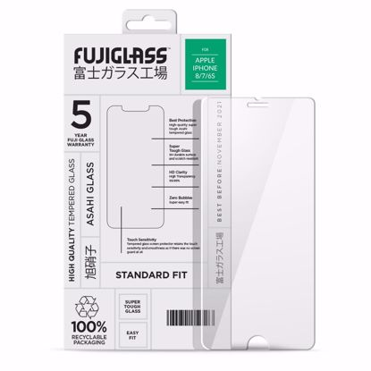 Picture of Fuji Fuji Standard Fit Screen Protector for Apple iPhone 8/7/6s in Clear