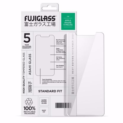 Picture of Fuji Fuji Standard Fit Screen Protector for Apple iPhone 11 Pro/XS in Clear