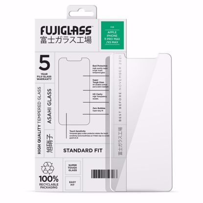 Picture of Fuji Fuji Standard Fit Screen Protector for Apple iPhone 11 Pro Max/XS Max in Clear