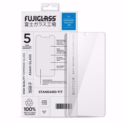 Picture of Fuji Fuji Standard Fit Screen Protector for Samsung Galaxy A51 in Clear