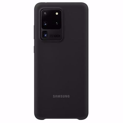 Picture of Samsung Samsung Silicone Cover for Samsung Galaxy S20 Ultra in Black