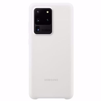 Picture of Samsung Samsung Silicone Cover for Samsung Galaxy S20 Ultra in White