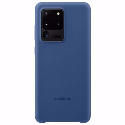 Picture of Samsung Samsung Silicone Cover for Samsung Galaxy S20 Ultra in Navy