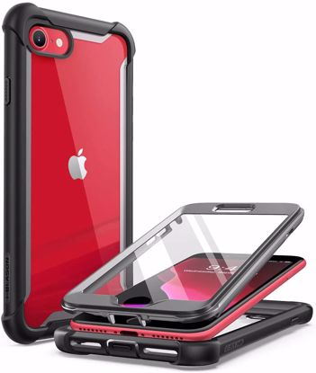 Picture of i-Blason i-Blason Ares Full Body Case with Screen Protector for iPhone SE (2020)/8/7 in Black