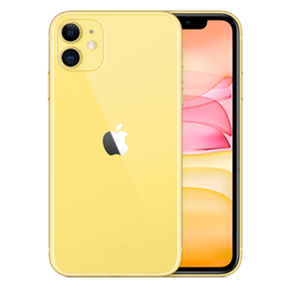 Picture of Apple iPhone 11 128GB Yellow (MHDL3B)