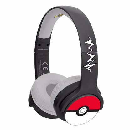 Picture of OTL OTL Pokemon Pokeball Junior Bluetooth Headphones in Black